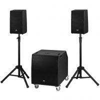 PA-højttalersystem aktiv PROTON-18NEO
