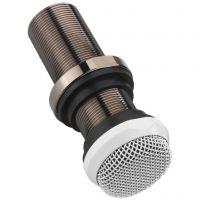 Mikrofon t/indb. hvid ECM-10/WS