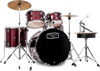 Mapex Tornado Fusion 5-pc drumset - Red, 5-pce Starter Drum Set in