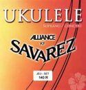 Musikinstrumenter, Savarez 140R Ukulele sopran strenge sæt 60cm