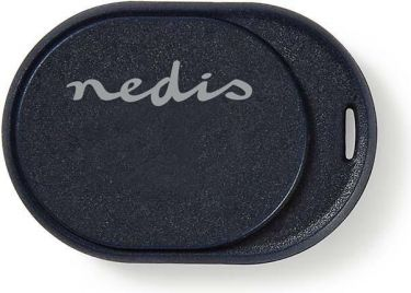 Nedis Tracker / Locator / Finder | Bluetooth | Works up to 50M | Small Design | Dark Blue, TRCKBT20B