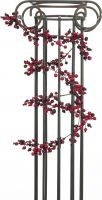 Udsmykning & Dekorationer, Europalms Berry garland mixed, artificial, 180cm, red