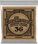 Musikinstrumenter, Ernie Ball EB-1836, Single .036 Wound Earthwood Phosphor Bronze str