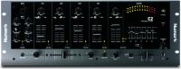 Numark C2, Four-Channel Rack Mixer with Five-Band EQ