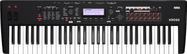 Korg KROSS2-61-MB Workstation Synth, Power-packed, portable Perform