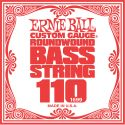 Musikinstrumenter, Ernie Ball EB-1699, Single .110 Nickel Wound string for Electric Bass