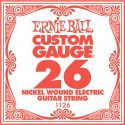 Musikinstrumenter, Ernie Ball EB-1126, Single .026 Nickel Wound string for Eletric gui