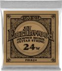 Musikinstrumenter, Ernie Ball EB-1824, Single .024 Wound Earthwood Phosphor Bronze str