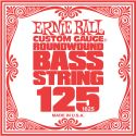 Musikinstrumenter, Ernie Ball EB-1625, Single .125 Nickel Wound string for Electric Bass