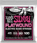 Bas Strenge, Ernie Ball EB-2814, Flatwound Super Slinky 45-100