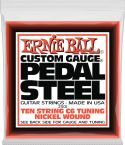 Guitarstrenge, Ernie Ball EB-2501, Complete set for C6-tuning. Nickel