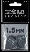 Musikinstrumenter, Ernie Ball EB-9199 PRODIGY-PICK-BK-1s,6PK, High Performance Guitar