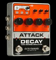 Electro Harmonix Attac Decay, is all you need for volume and revers