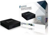 König 4K DVB-T2 / DVB-S2 Android Streaming Box, DVB-TS2 4KASB
