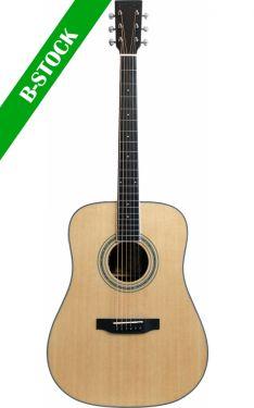 """Santana Western Guitar Dreadnought, sort valnød, EQ T-200 """"B-STOCK"""""""