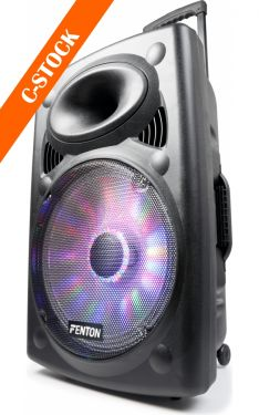 "FPS15 Portable Sound System 15"" BT/VHF/IRC/LED ""C-STOCK"""