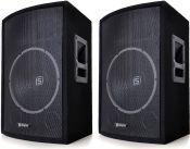 """2 stk. SL15 Disco/PA speaker 15"""" bas - 800 watt max"""