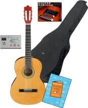 """Spansk Guitarpakke 39"""" Alt hvad du skal bruge"""