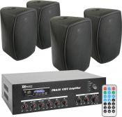 Power Dynamics PBA30 100V inkl 4 Stk. Power Dynamics ISPT5B - Pakkesæt