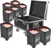 BeamZ BBP96 8Stk. Inkl Flightcase - Pakkesæt