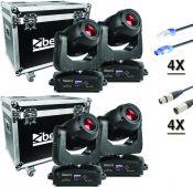 BeamZ professional IGNITE 180 Spot LED Moving Head - Pakke med 4 stk.