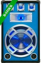 "PA Blue Speakerbox 15"" LED 800W ""B-STOCK"""
