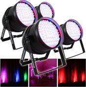 10A83B54 |Par 64 LED lampe 180x 10mm RGB LED'er Auto
