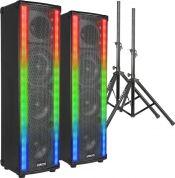 Vonyx LightMotion LM80 600W - Inkl Stativer. - Pakkesæt