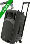 "Lyd Systemer - Transportable, QR15PA Portable PA ""B-STOCK"""