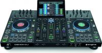 Denon DJ PRIME 4, 4-Deck Standalone DJ System with 10-inch Touchscreen