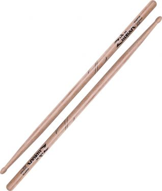 Zildjian 5A Laminated Birch - Wood Tip, Heavy and powerful. Made fr