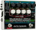 Guitar- og baseffekter, Electro Harmonix EH BATTALION BASS-PREAMP, Compact and flexible bas