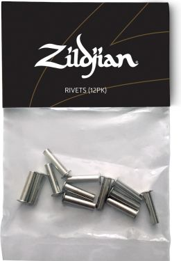 Zildjian ZRIVET Sizzle Rivets - 12 Pcs, A convenient package of 12s