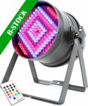 "LED PAR 64 Can 180x 10mm RGB IR DMX ""B-STOCK"""