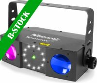 """Terminator IV LED Double Moon with laser and strobe """"B-STOCK"""""""