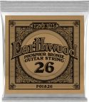 Musikinstrumenter, Ernie Ball EB-1826, Single .026 Wound Earthwood Phosphor Bronze str