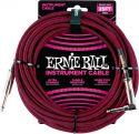 Kabler, Ernie Ball EB-6062 Instrument Cable, Superior braided cable, black