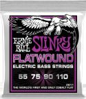 Bas Strenge, Ernie Ball EB-2811, Flatwound Power Slinky 55-110