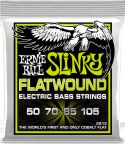 Bas Strenge, Ernie Ball EB-2812, Flatwound Regular Slinky 50-105