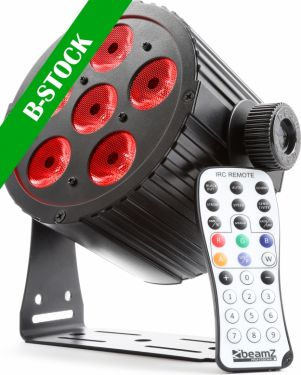 "BAC406 Aluminum LED spot 6x 18W 6 in 1 ""B-STOCK"""