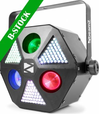 "MadMan 3x 30W RGBW 4 in 1 beam, 132 SMD 3 in 1 LED ""B-STOCK"""