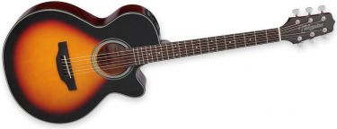 Takamine GF15CE BSB, The GF15CE features Takamines FXC-style body