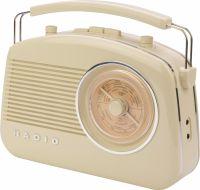 König Portable Bluetooth Radio FM / AM AUX Beige, HAV-TR800BE