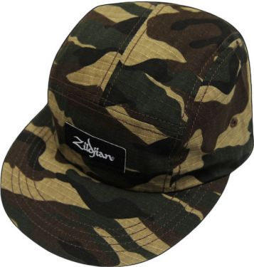 Zildjian T4541 Camouflage Five Panel Hat