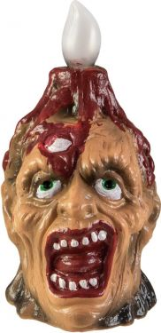 Europalms Halloween Zombie lamp, 18cm