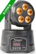 "Moving Heads, MHL-90 Mini Moving Head Wash 5x 18W RGBAW-UV LEDs ""B-STOCK"""