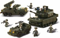 Sluban Building Blocks Army Serie Army Set, M38-B6800