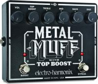 Electro Harmonix Metal Muff with Top Boost, brugte måneder med at f