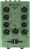 DJ Equipment, Omnitronic GNOME-202 Mini Mixer green