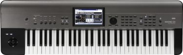 Korg Krome-61-EX workstation synth, An evolved go-to synthesizer wi